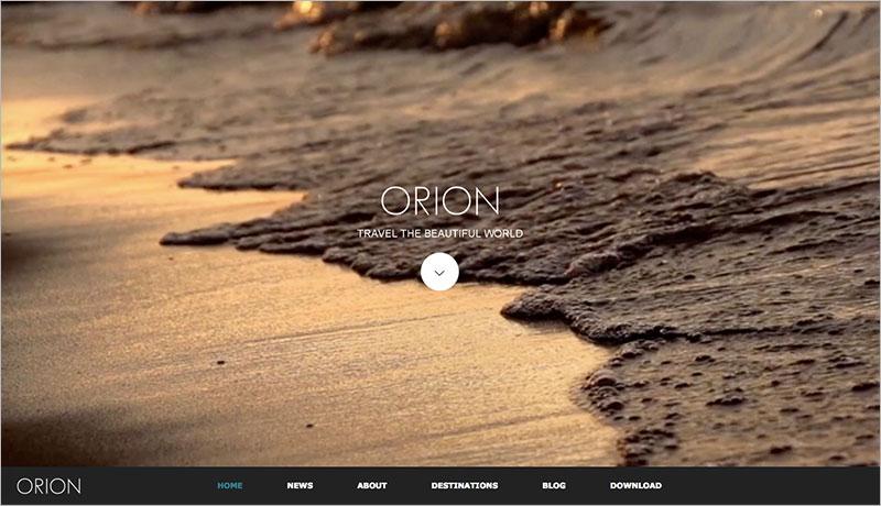 WordPress Theme ORION