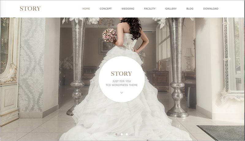 WordPress Theme STORY